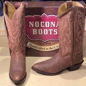 Nocona Dark Brown Calf MD2705